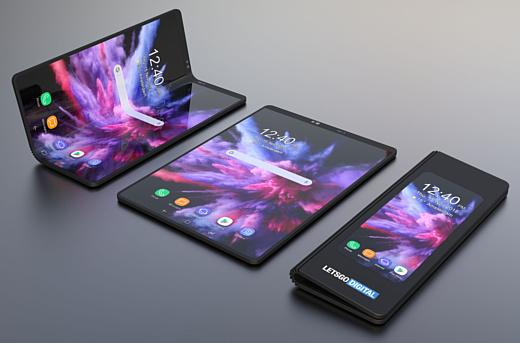 Дизайнер показал рендер Samsung Galaxy F