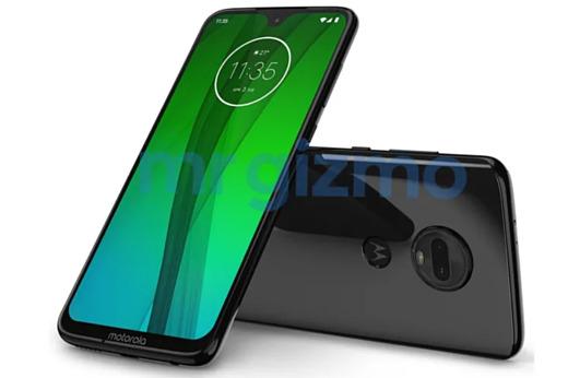 Утечка: пресс-рендеры Motorola Moto G7