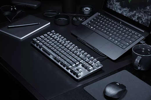 Razer показала механическую клавиатуру BlackWidow Lite