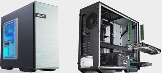 Asus представила мощный ПК с 10-ядерным Xeon и GeForce RTX 2080