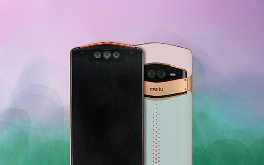 В сети появились фото смартфона Meitu с тройной селфи-камерой