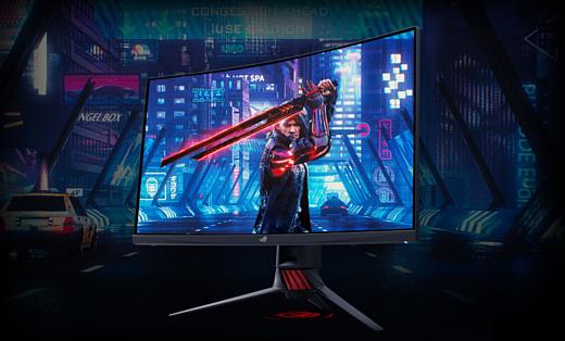 Asus анонсировала новый геймерский монитор с HDR и FreeSync 2