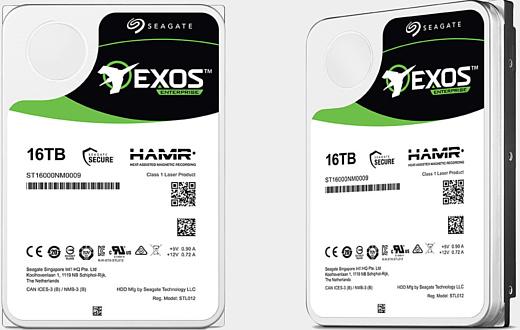 Seagate анонсировала 16-терабайтный HDD на основе технологии HAMR