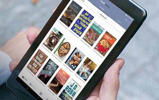 Barnes & Noble показала новый недорогой планшет NOOK 7