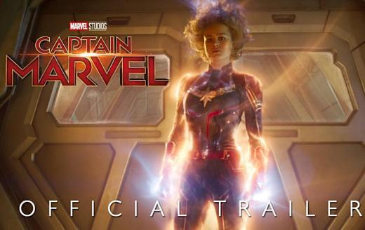 Disney опубликовала новый трейлер «Капитана Марвел»