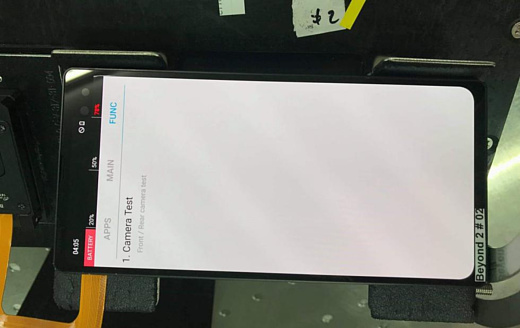Утечка: фото прототипа Samsung Galaxy S10 Plus