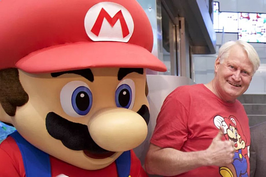 Чарльз Мартине озвучил Марио 100 раз и заслужил запись в Книге рекордов Гиннесса