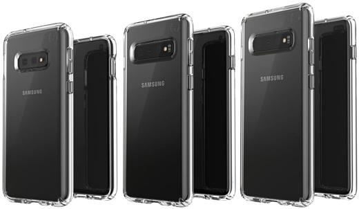Утечка: новые рендеры Samsung Galaxy S10 E, S10 и S10+