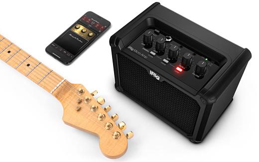iRig Micro Amp — портативный гитарный усилитель с поддержкой iPhone и iPad