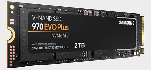 970 Evo Plus — новые скоростные SSD-накопители Samsung