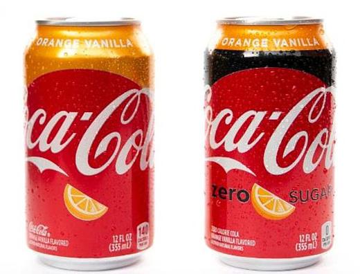 Coca-Cola выпустит новый напиток со вкусом апельсина и ванили