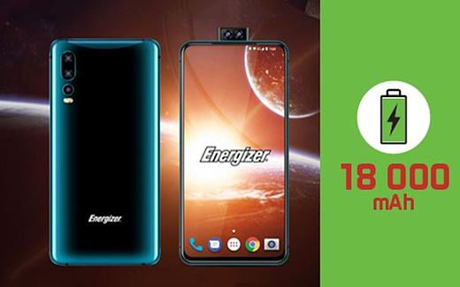 Energizer показала смартфон с батареей емкостью 18000 мАч и двойной выдвижной селфи-камерой