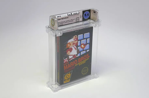Копию оригинальной Super Mario Bros. продали за $100 тысяч