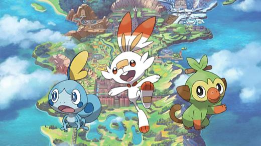 Nintendo выпустит на Switch игры Pokemon Sword и Pokemon Shield