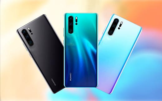 Утечка: новые рендеры Huawei P30 и P30 Pro