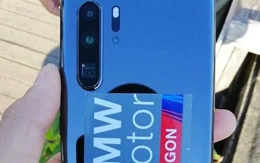 Утечка: «живые» фотографии Huawei P30 Pro