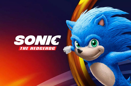 Так будет выглядеть Соник в фильме Sonic The Hedgehog