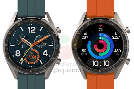 Слух: Huawei выпустит две новые версии умных часов Watch GT