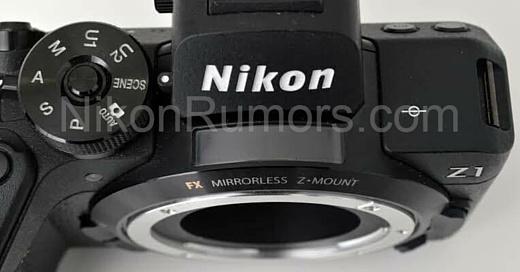 В сеть попала фотография неанонсированной камеры Nikon Z1