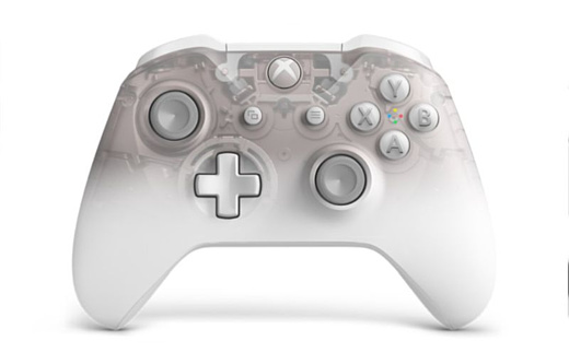 Для Xbox One выпустят белый контроллер Phantom White
