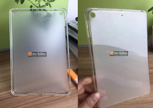Утечка: фото чехлов для iPad Mini 5