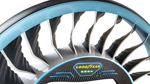 Goodyear AERO — концепт шины для летающих авто