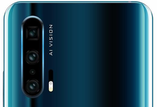 Утечка: рендер Honor 20 Pro с четырьмя камерами на задней панели