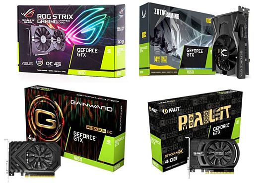 В сеть попали характеристики и цена Nvidia GeForce GTX 1650