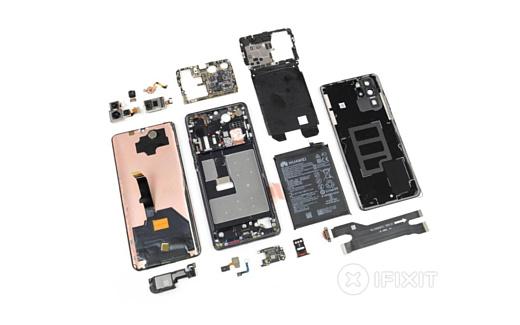 Эксперты iFixit заглянули внутрь Huawei P30 Pro