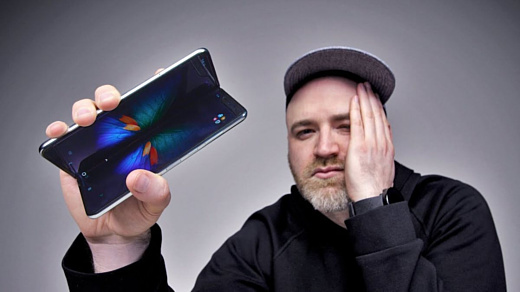 Видео: Samsung Galaxy Fold сложили 1000 раз за 20 минут