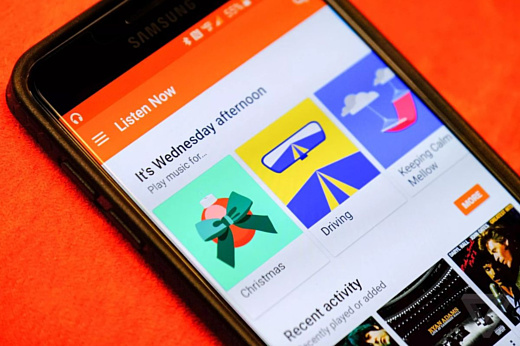Музыкальными сервисами Google пользуются больше 15 млн человек