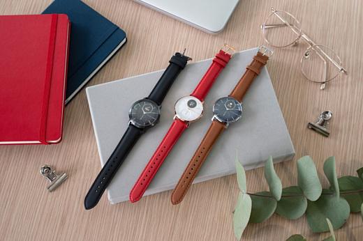 Withings показала умные часы Steel HR Sapphire Signature