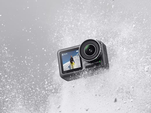 DJI Osmo Action — экшн-камера с двумя дисплеями