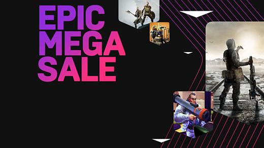 Epic Games начала большую распродажу игр в Epic Games Store
