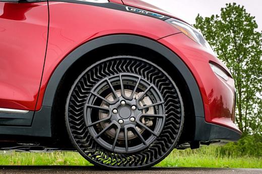 К 2024 Michelin и GM выпустят безвоздушные шины