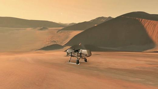 НАСА отправит на Титан дрон Dragonfly