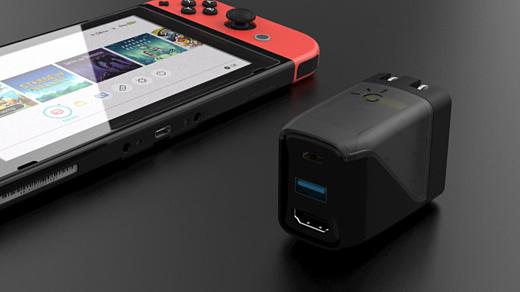 Genki Covert Dock — новая миниатюрная док-станция для Nintendo Switch