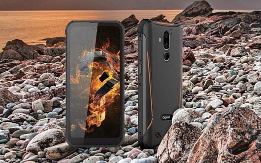 Gigaset GX290 — прочный смартфон с «чистой» Android и батареей на 6200 мАч