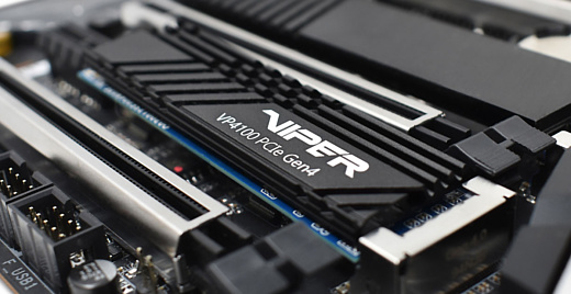Patriot анонсировала сверхскоростные PCIe 4.0 SSD-накопители Viper VP4100