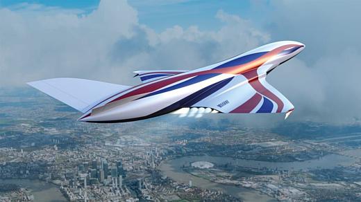 Этот «Космический самолет» может пролететь от Лондона до Сиднея всего за 4 часа