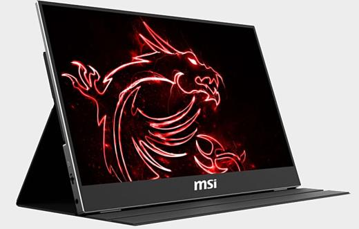 MSI готовит к продаже портативный геймерский монитор с частотой развертки в 240 Гц