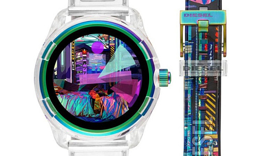 Diesel выпустила умные часы Fadelite с WearOS и Snapdragon 3100
