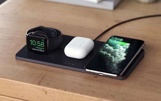 Satechi Trio Wireless Charging Pad — новое беспроводное ЗУ для смартфона, умных часов и наушников