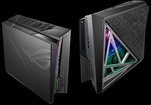 Asus ROG Huracan G21 — компактный ПК с 8-ядерным процессором и GeForce RTX 2080