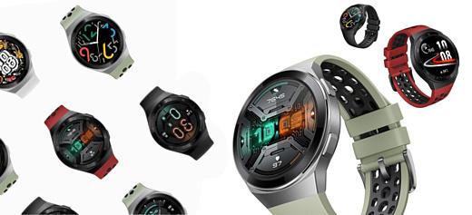 Huawei выпустила недорогие умные часы Watch GT2e