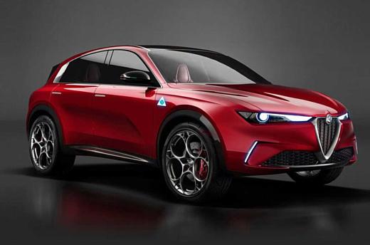 В 2022 Alfa Romeo выпустит свой первый электрический кроссовер