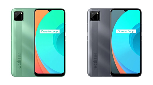 Realme представила смартфон C11 с 6.5-дюймовым дисплеем и Helio G35