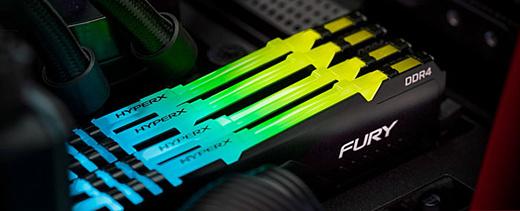 HyperX выпустила новые модули памяти Predator DDR4 RGB