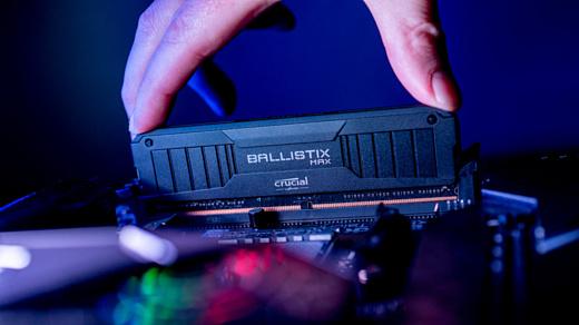 Crucial выпустила самый быстрый набор DDR4-памяти на рынке