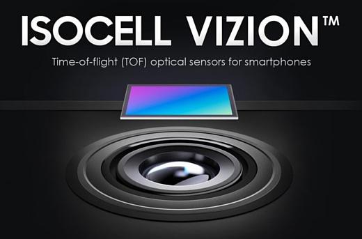 Samsung разрабатывает собственный сенсор 3D ToF под названием ISOCELL Vizion